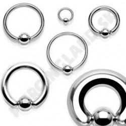 Piercing - Krúžok z chirurgickej ocele 316L