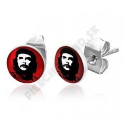 Náušnice z chirurgickej ocele - Che Guevara
