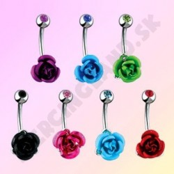 Piercing do jazyka - ružička